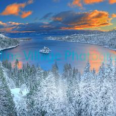 Emerald Bay Winter
