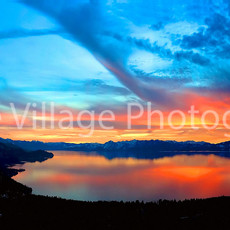 Tahoe Sunset Pan