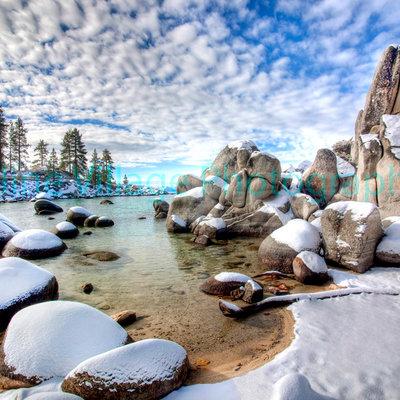 Sand Harbor Winter