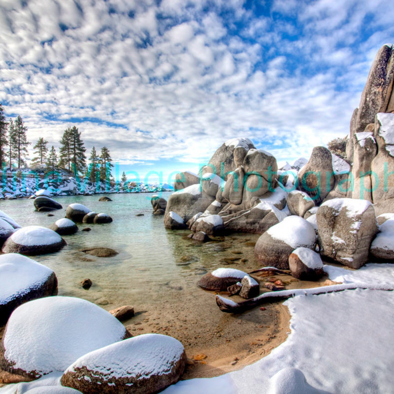 Sand Harbor Winter