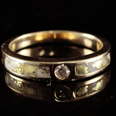 Gold Quartz Ring 6 RL728WD7Q