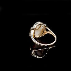 Gold Quartz Ring RL1107DQ 6.75