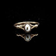 Gold Quartz Ring RL725Q 7.5