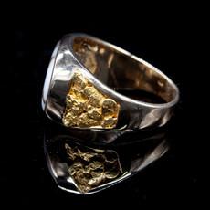 Gold Quartz Ring RM802Q-13.5