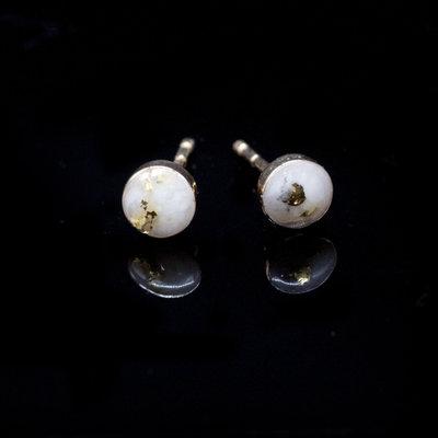 Gold Quartz Post Earrings EBZ5MMQ_2