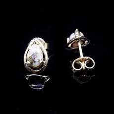 Gold Quartz Earrings EN442Q