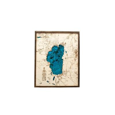 Tahoe Wood Maps Tahoe - Large