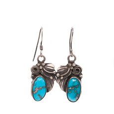 Kingman Turq. Earrings