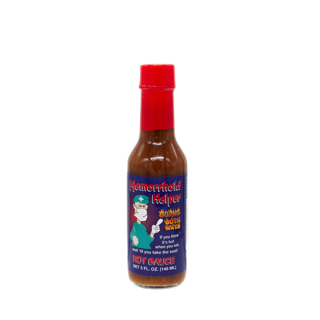 Hemorrhoid Helper 5 fl.oz Hot Sauce