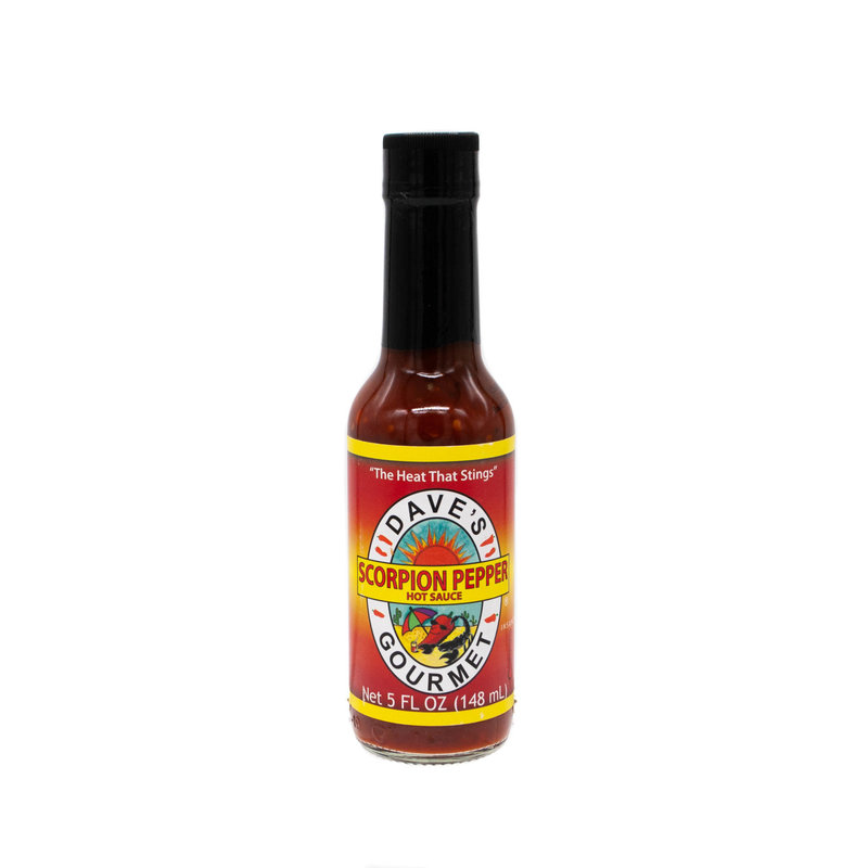 Dave's Scorpion Pepper Sauce