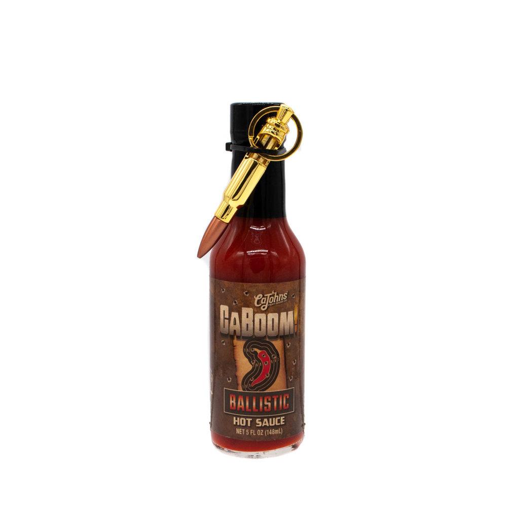 CaJohns Caboom Ballistic 5 fl.oz Hot Sauce
