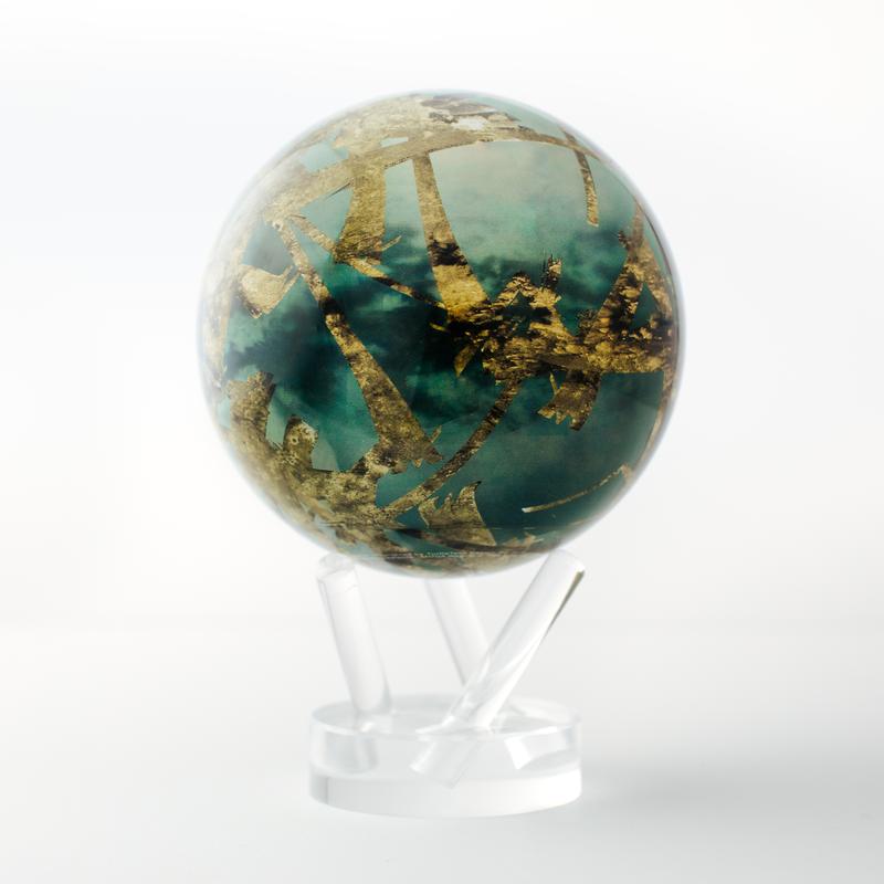 "Titan Moon Globe 4.5"""