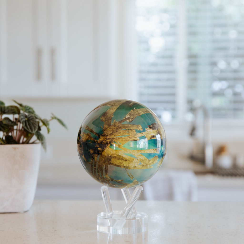 "4.5"" Titan Moon Globe"