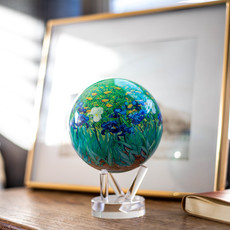 "4.5"" Van Gough Irises Globe"