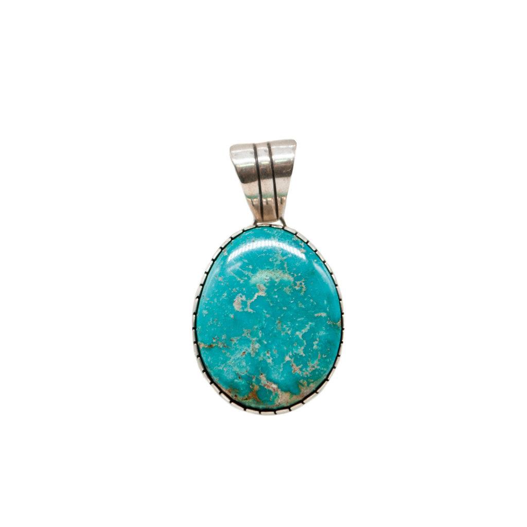 Fox Turquoise Pendant