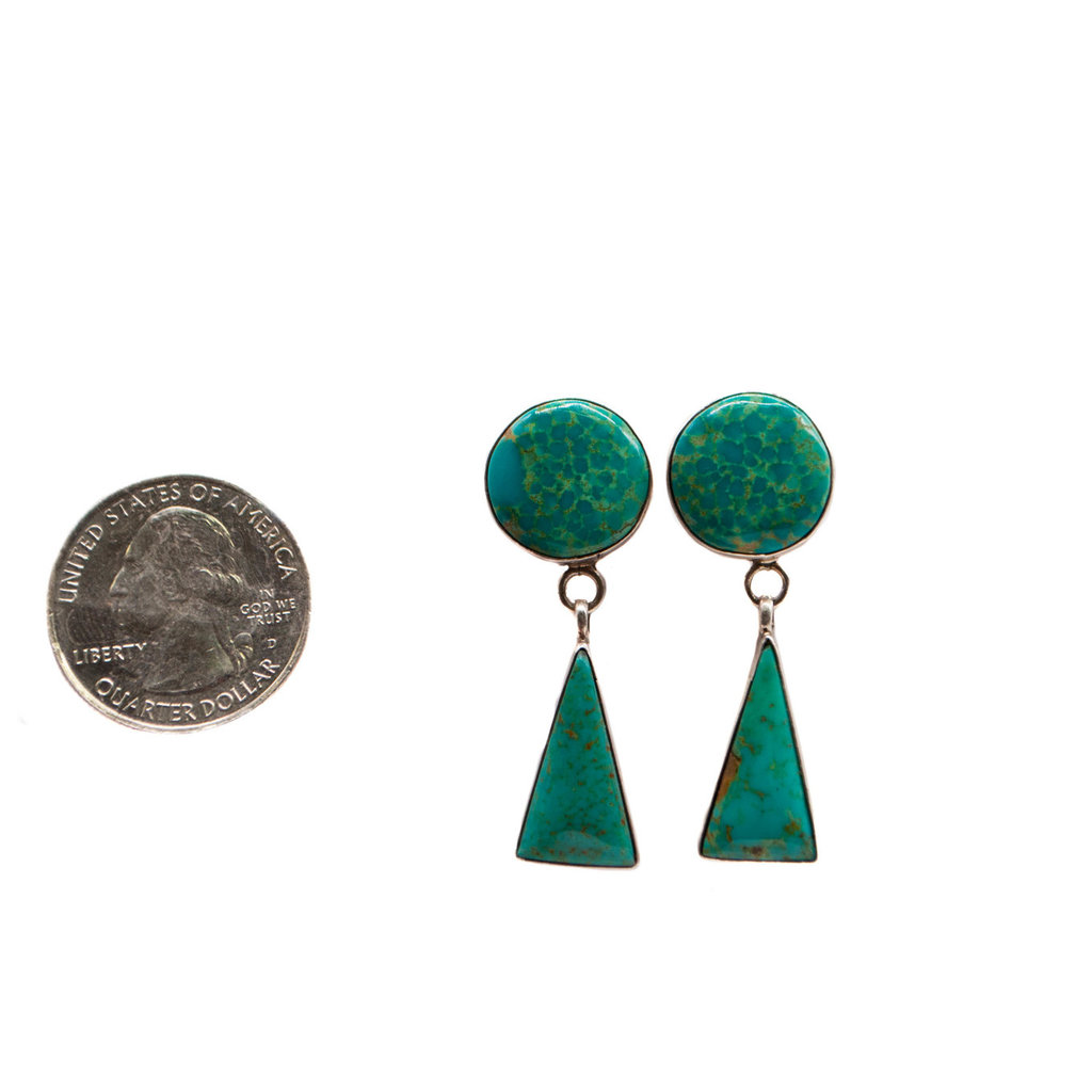 Navajo Turquoise Earrings