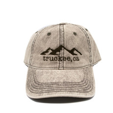 Light Olive Snow Washed Truckee Hat