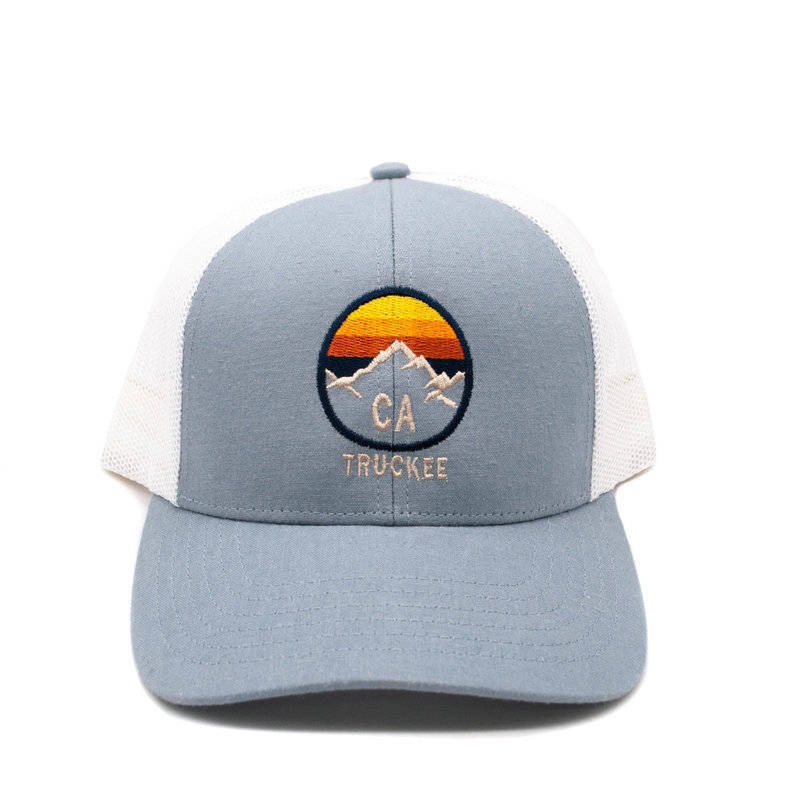 Gray/White Truckee Hat