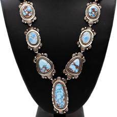 "Golden Hills Turquoise Set - 30"" / 15 stone"