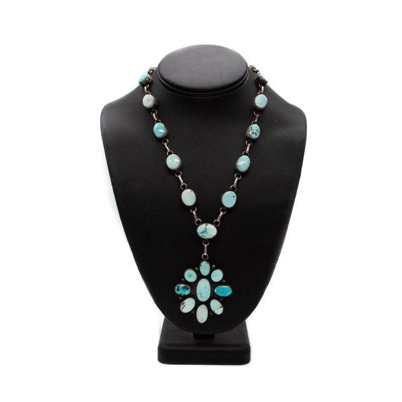 "36"" Golden Hills Turquoise Necklace"