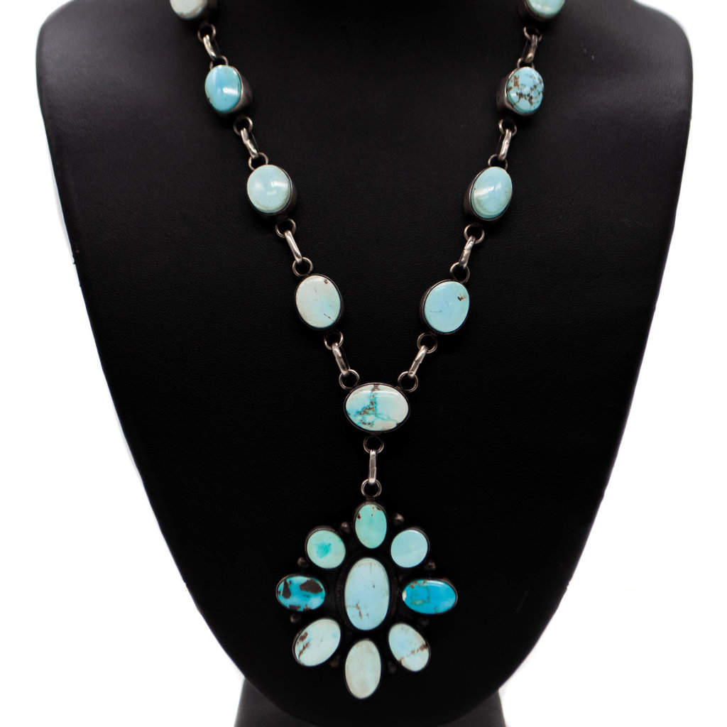 """36"""" Golden Hills Turquoise Necklace"""