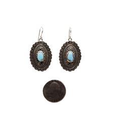 Golden Hills Turquoise Earrings