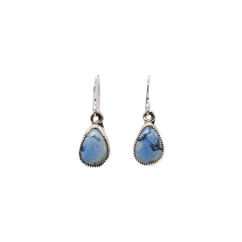 Golden Hills Turquoise Earrings - Drop