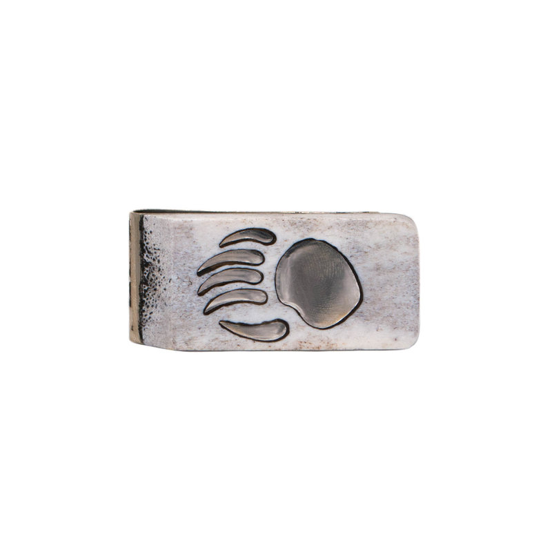 Antler Money Clip - Bear Paw