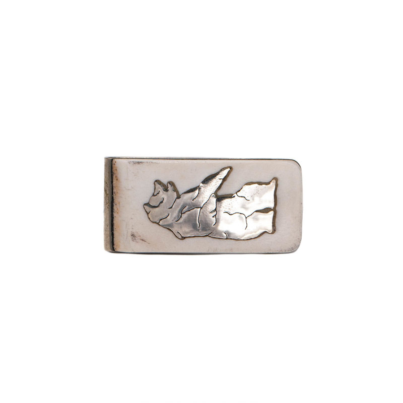 Antler Money Clip - Standing Bear