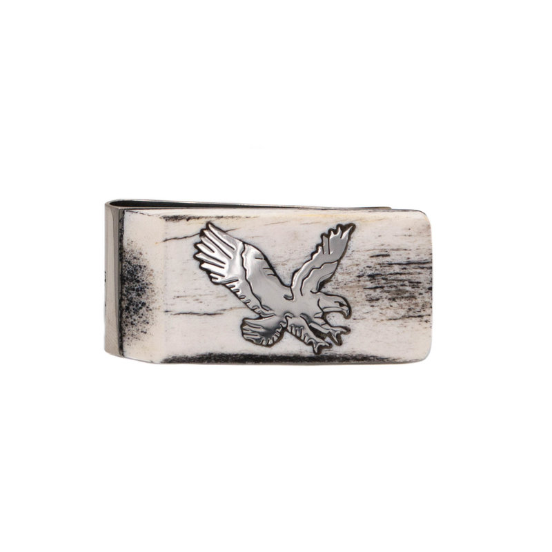 Antler Money Clip - Eagle