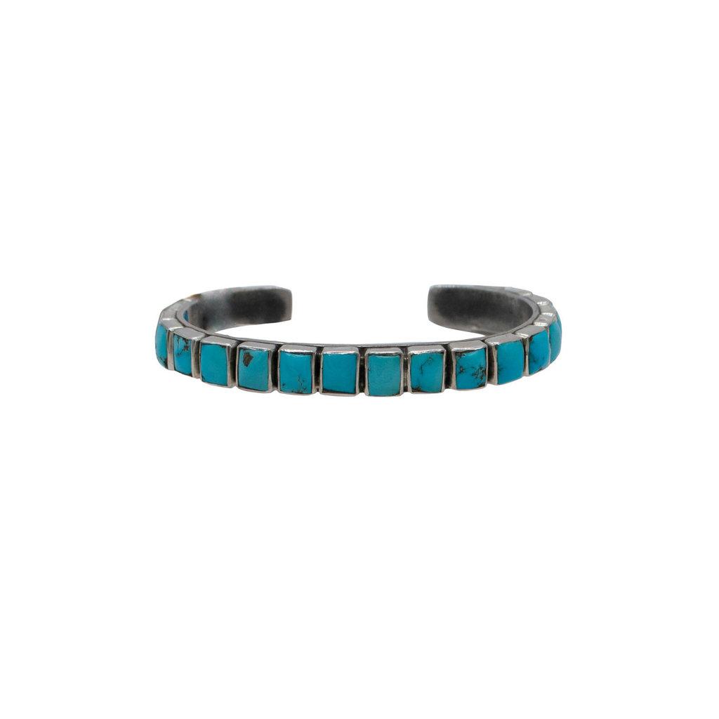 Cobble Stone Turq. Bracelet