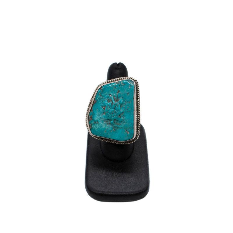 Turquoise Turtle Ring - Federico Jimenez