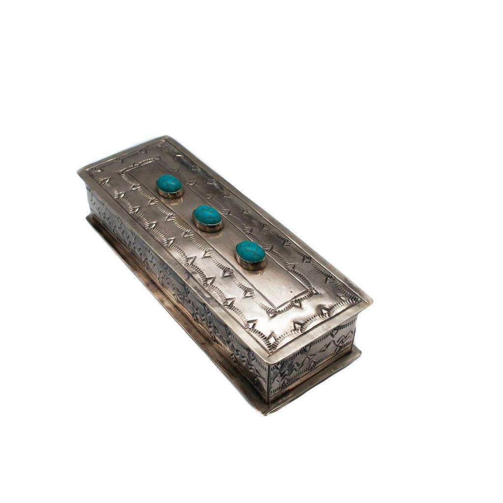 Stamped Eyeglass Box