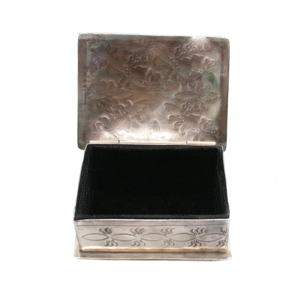 Small Stamped Box D