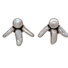 Mother of Pearl Federico Earrings