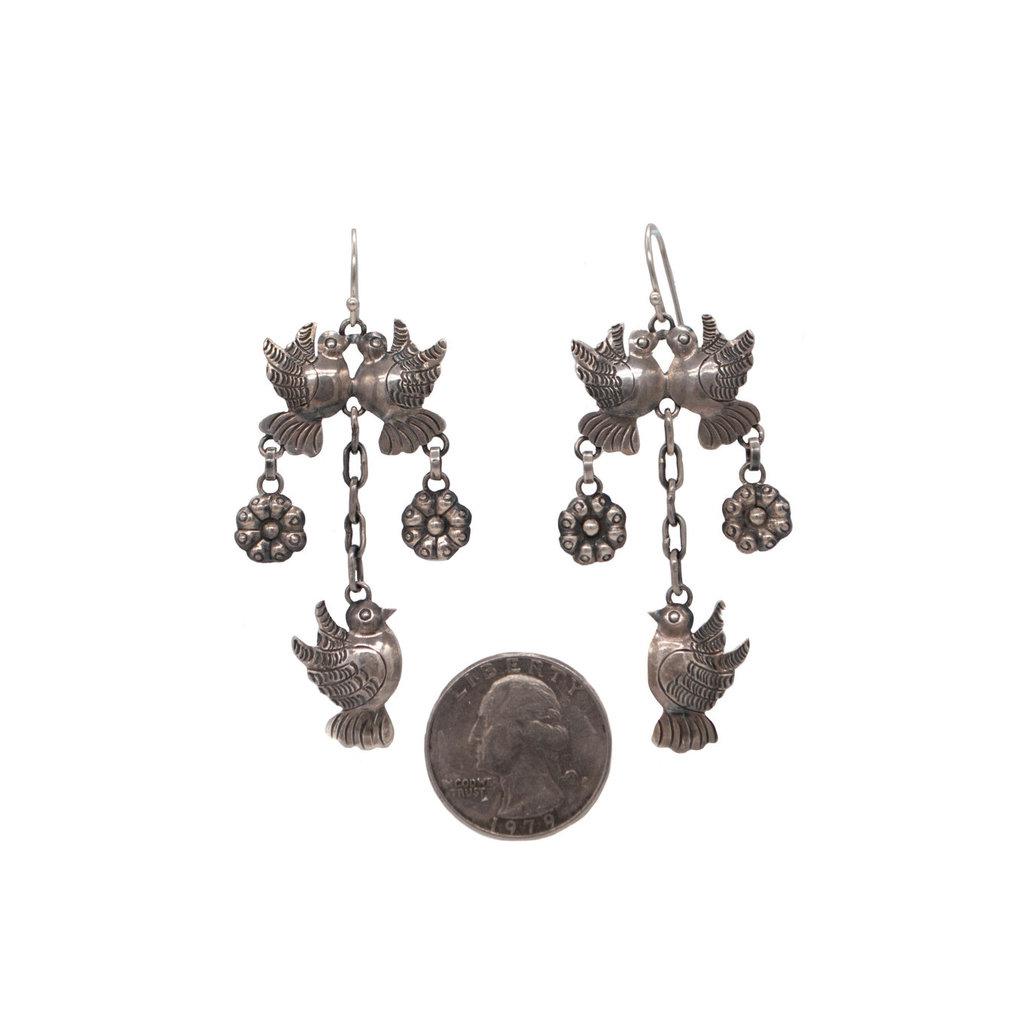 Federico Silver Earrings
