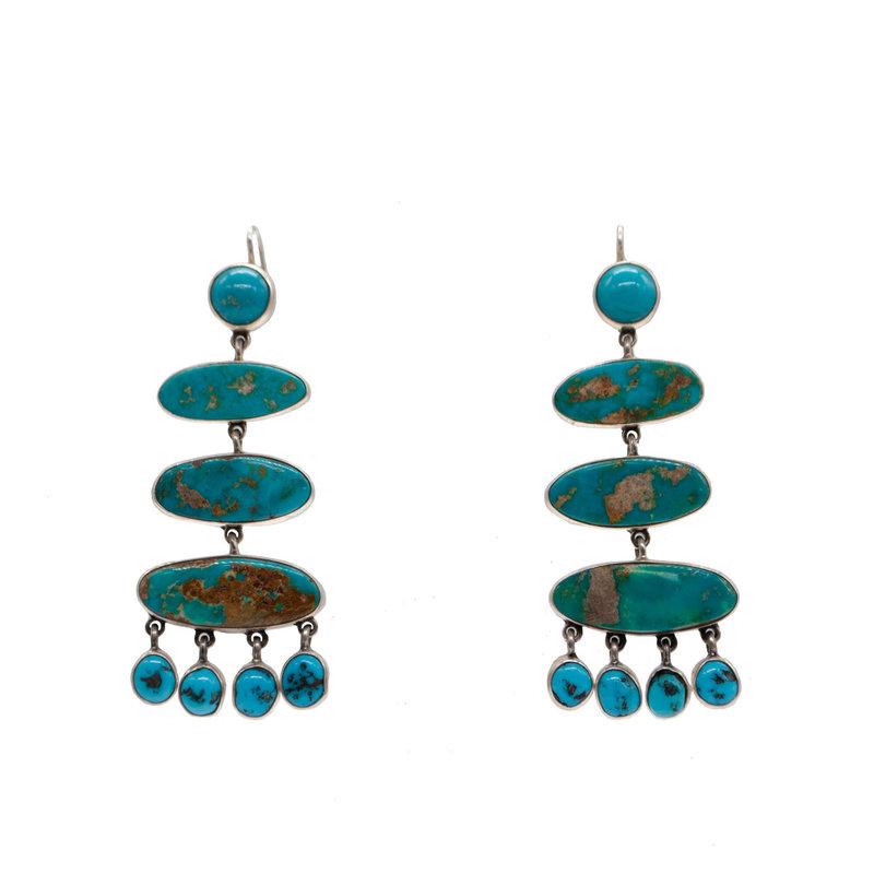 Turquoise Federico Jimenez Earrings