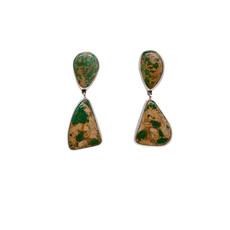 Green Turquoise Federico earrings