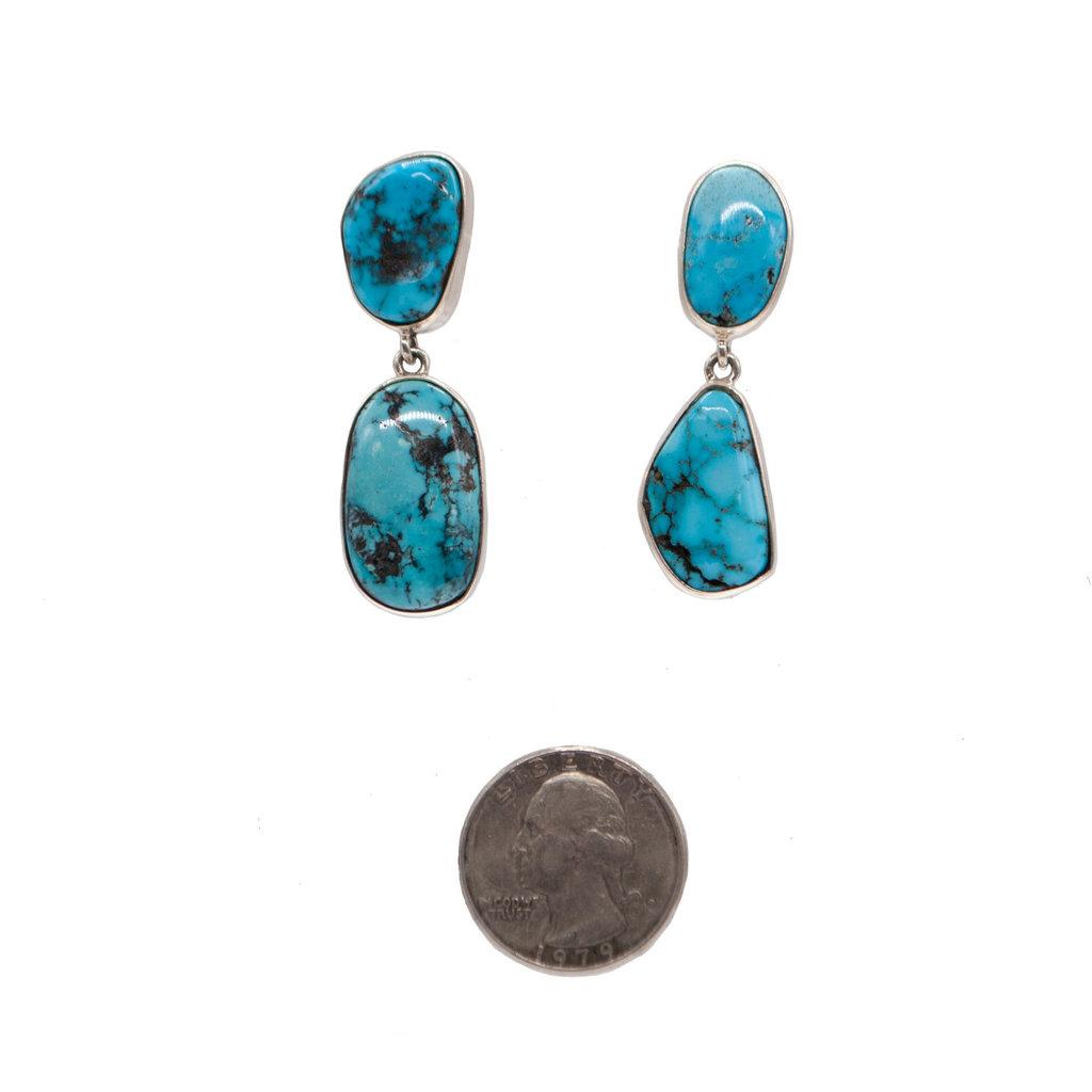 2 Stone Federico Earrings