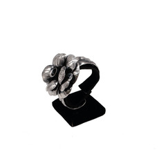 Federico Sterling Silver Flower Cuff