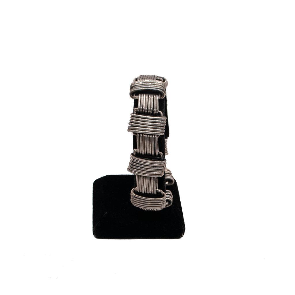 Federico Sterling Silver Wire Bracelet