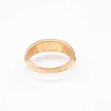 Gold Quartz Ring - RMBS24Q - 11