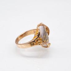 Gold Quartz Ring - RL232LQ -7.5