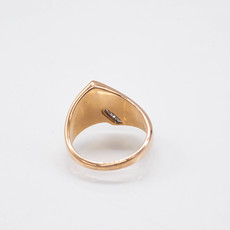 Gold Quartz Ring - RL536D10Q - 7