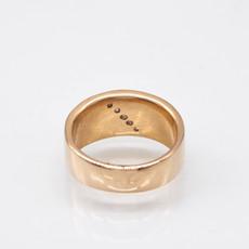 Gold Quartz Ring - RL673D27Q -  8.25