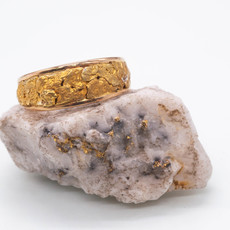 Gold Nugget Band - RM7MMT (G4)-9
