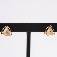 Gold Quartz Earrings EN441Q