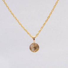 Gold Quartz Pendant - PBZ8MMQX_1