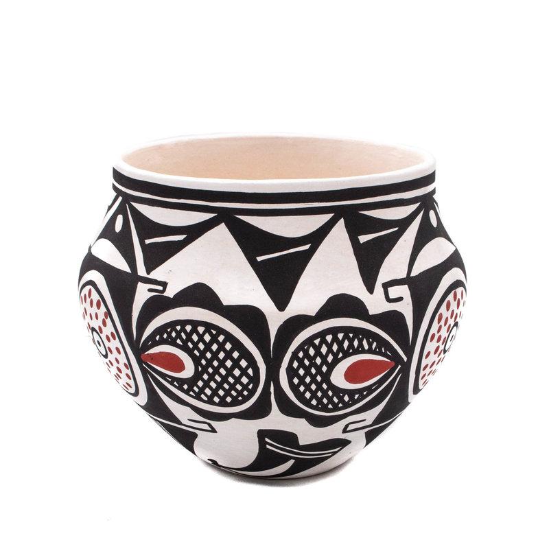 Acoma Acoma Fertility Pot by Loretta Joe