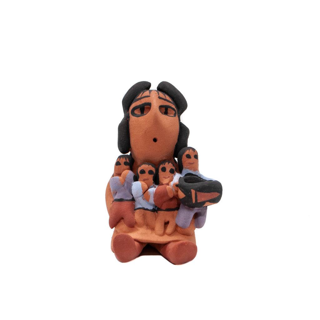 Navajo Storyteller by Eva Plummer, Navajo
